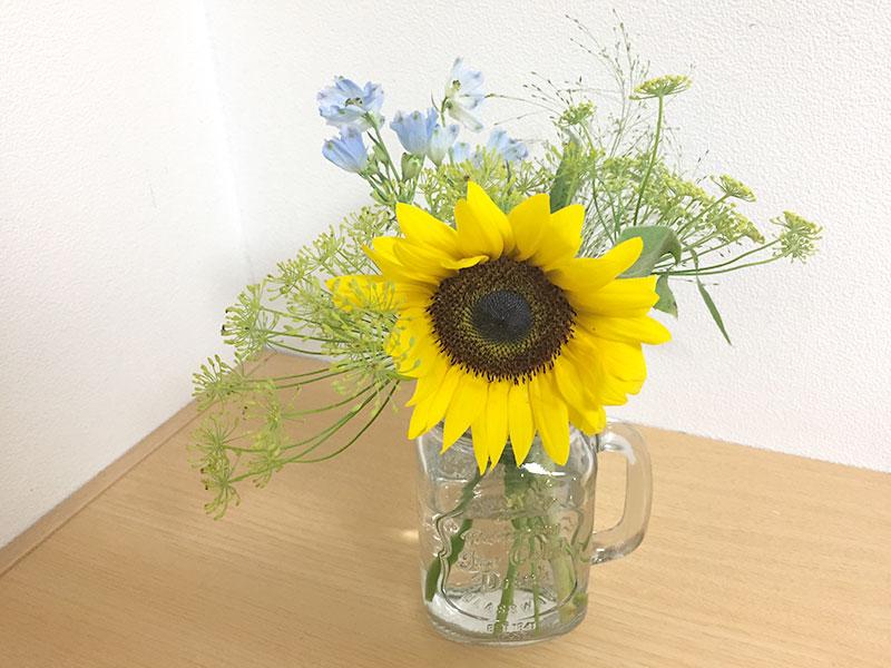 【ブルーミーライフ】6月のお花